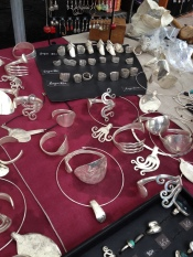 A selection of flatware jewellery L'Isle Sur La Sorgue