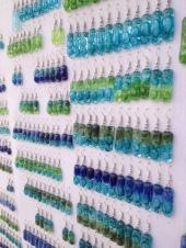 Lovely fused glass earrings