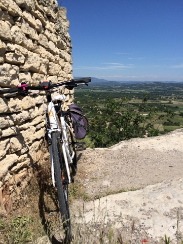 5 weeks ago overlooking Gordes