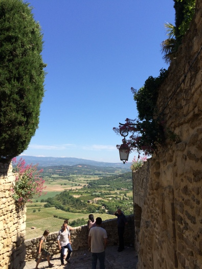 One of the stunning views in the Luberon