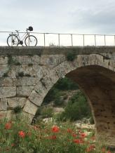 Pont St Julien - crossing the Calavon River