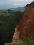 Ochre rocks at Roussillon