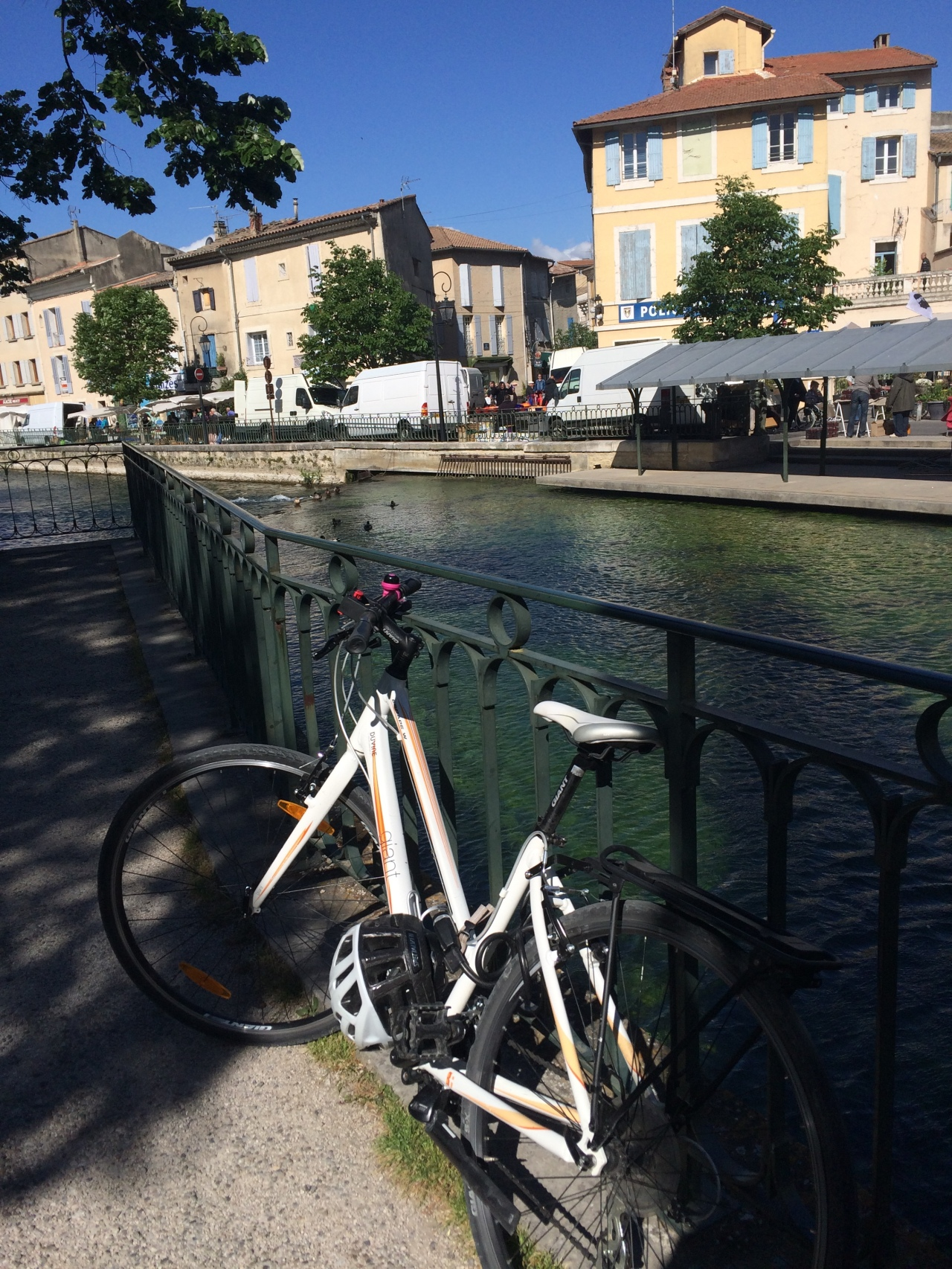 Two Weeks in Provence – Day 6 – Back on the bike & head-on into the Mistral
