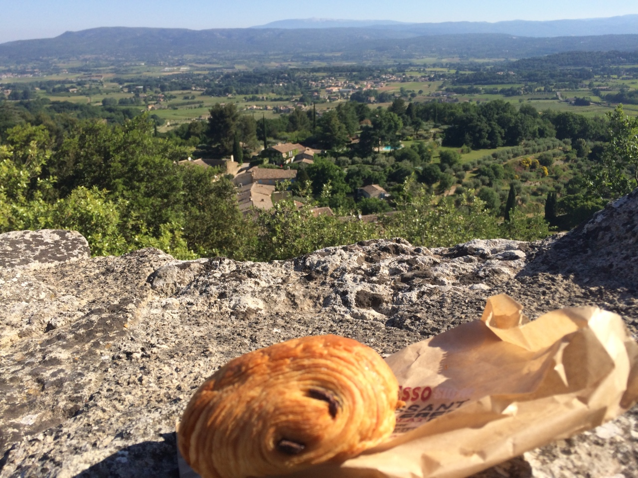 Two Weeks in Provence – Day 7 –Breakfast with a view & Crafts in Avignon