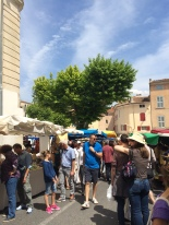 Apt Market fills the town with stalls every Saturday morning