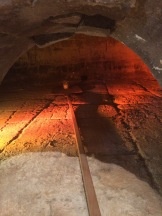 Inside the old communal bread oven, Lagnes