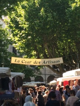 Entrance to the Cour Des Artisans