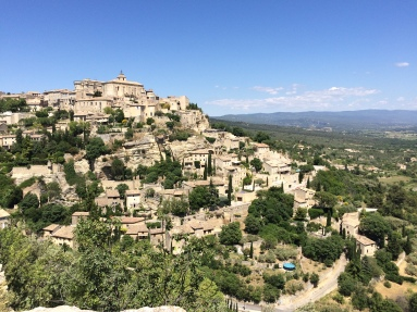 Gordes from the viewpont