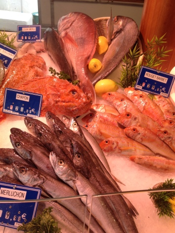 Fish stalls are lovely & a favourite meal is fresh Langoustines with aioli & fresh bread - simply delicious