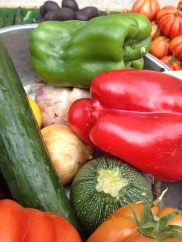 Ratatouille ingredients - no cookbook required