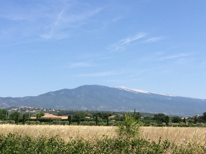 The ever-present Ventoux