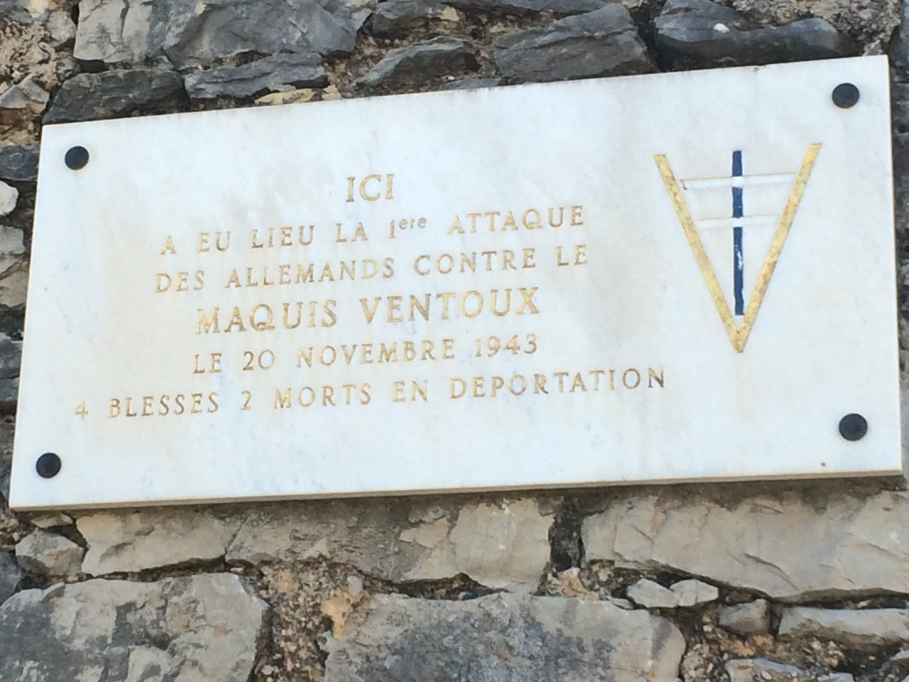 Reminders of the Resistance in Provence