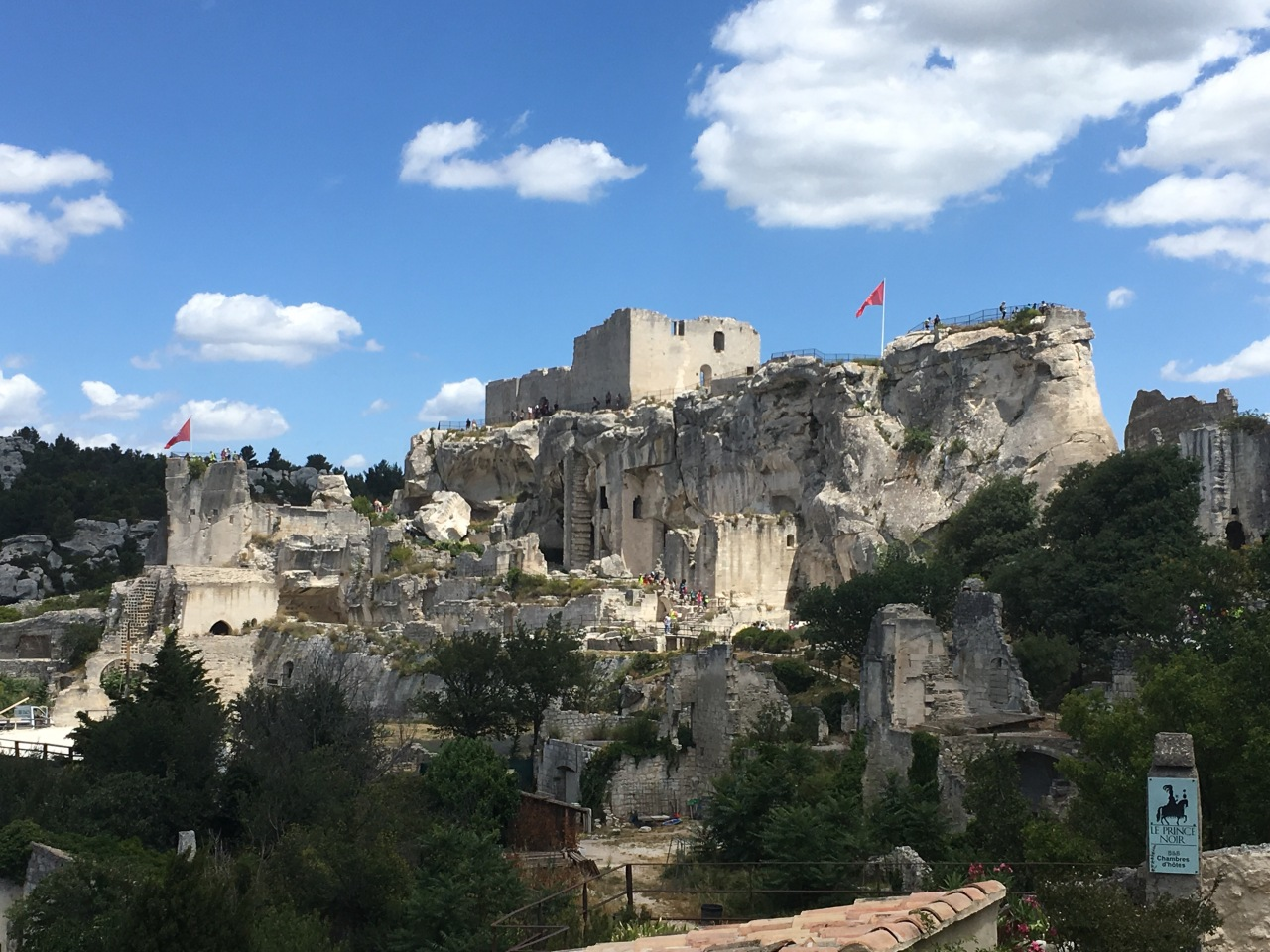 Treading in ancient footsteps at Les Baux-de-Provence