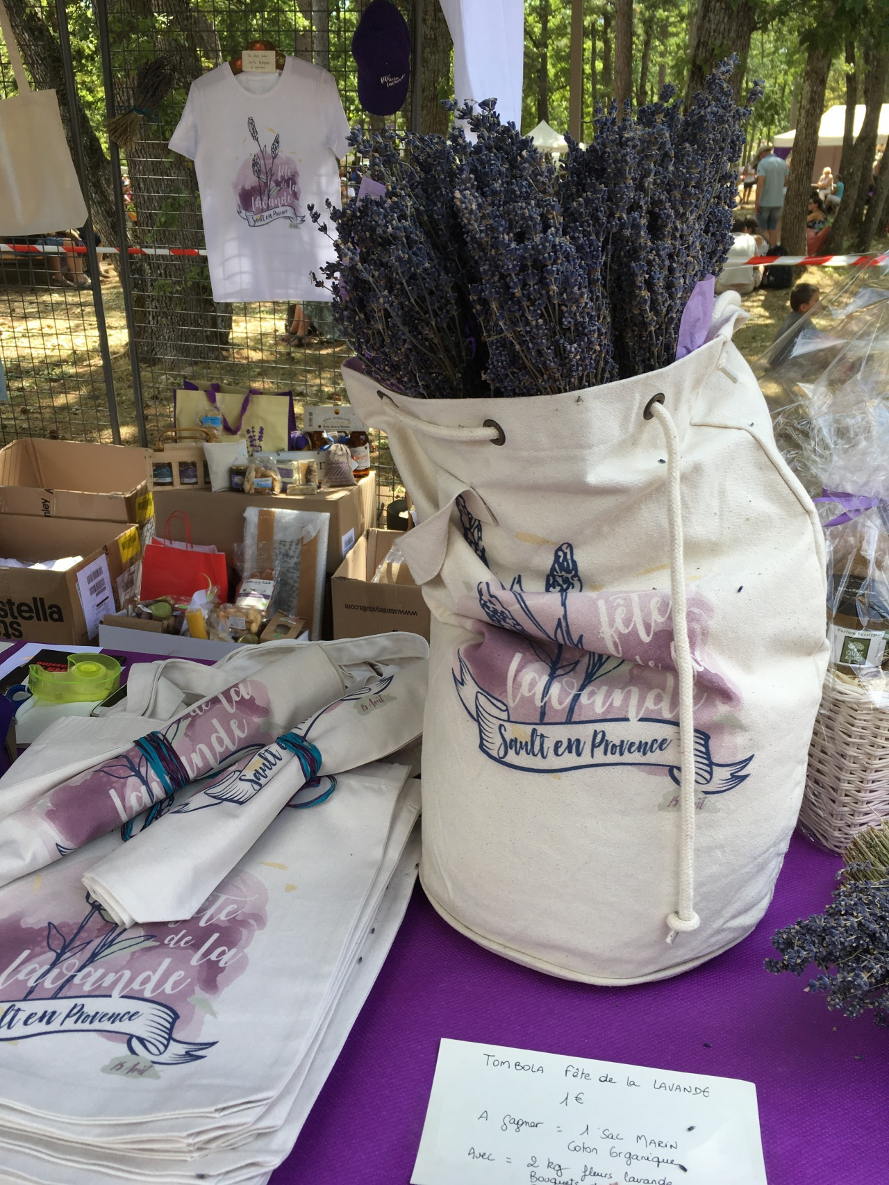A lovely day at the Sault Lavender Festival
