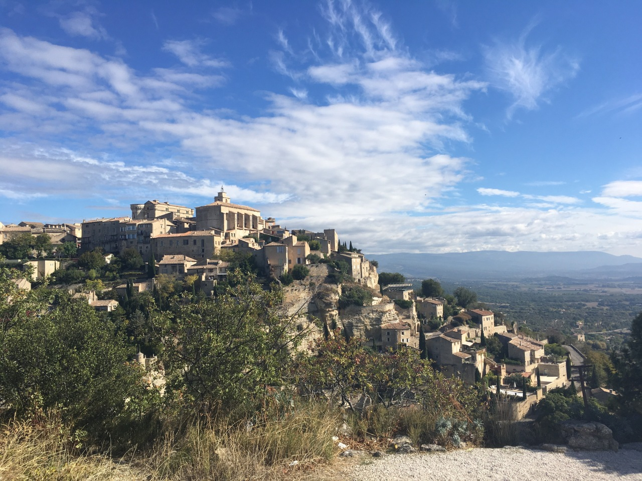 Beautiful light, colours, peace and quiet – it's Autumn in Provence