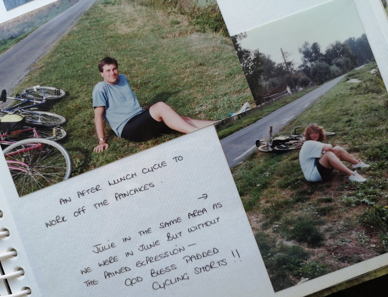 Saddlebag of Memories – we have a cycle ride toplan
