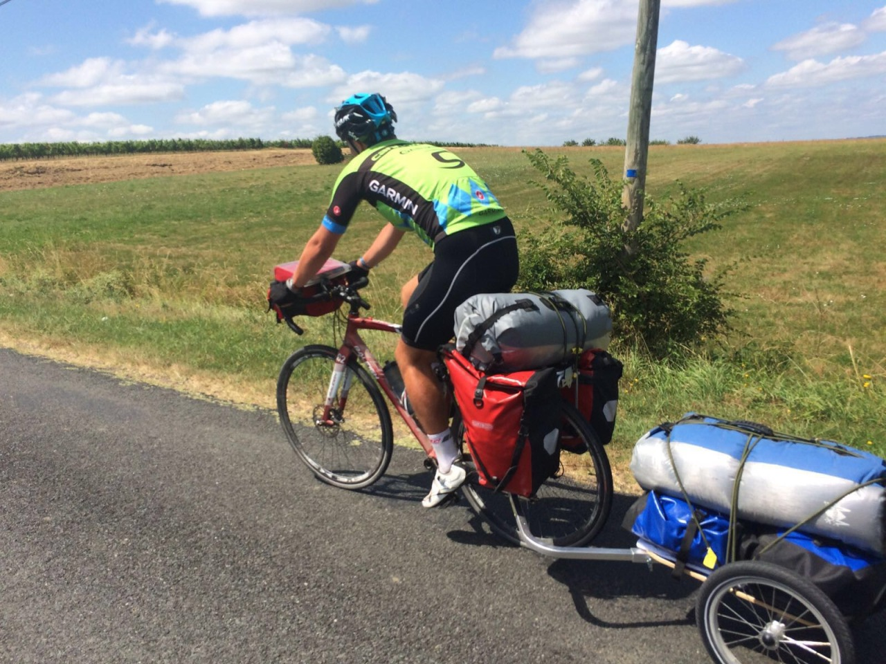 Day 10 – Bordeaux to Damazan