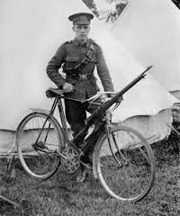 Following in the Cycle Tracks of the WW1 Cycle mounted Light Infantry