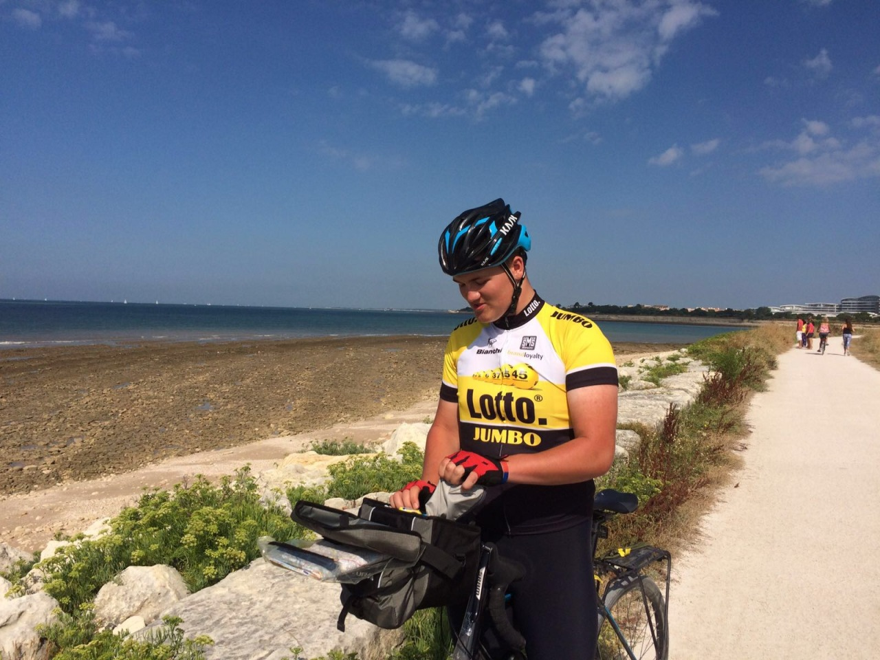 Day 8 – La Rochelle to Cozes
