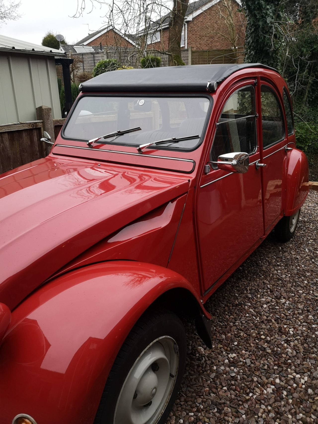 Say hello to Rose the 2CV