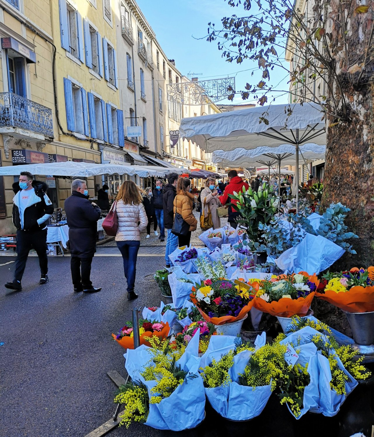 Back to Provence for Christmas