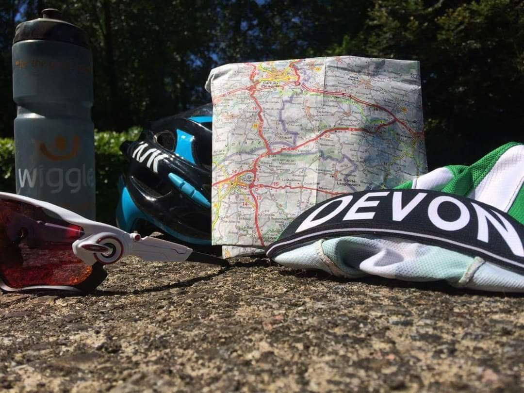 Velodyssey and beyond. Only 1500km togo